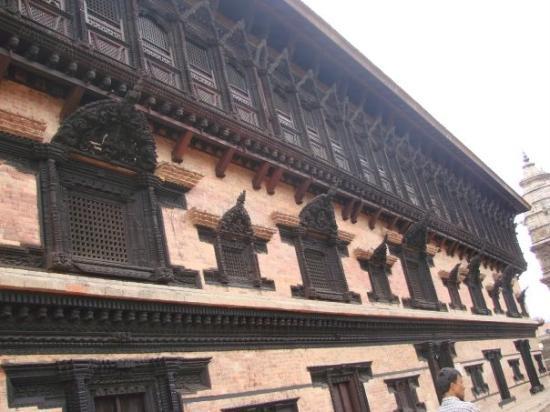 Kathmandu, Nepal: The palace of 55 windows
