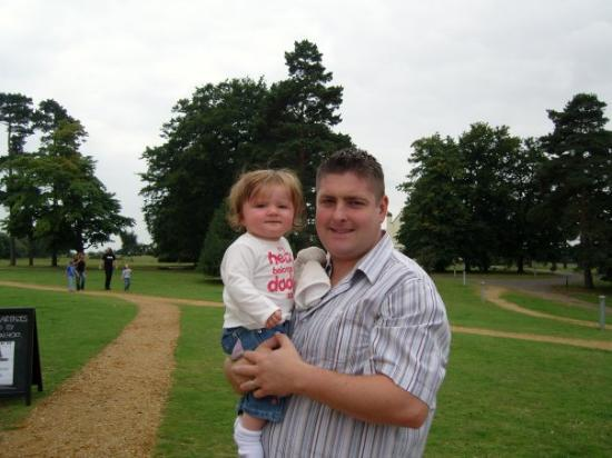 Woodbridge, UK: Dadda & B at Sutton Hoo
