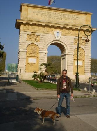 Les Arceaux : Arco del triunfo (Montpellier)