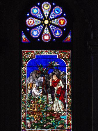 Masonic Temple: Stained Glass Window