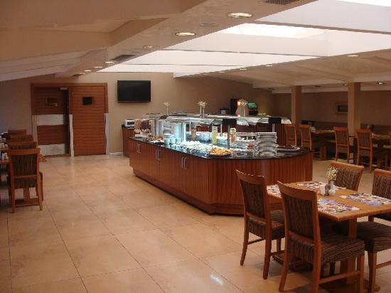 Hotel Venera: Vue sur le Restaurant