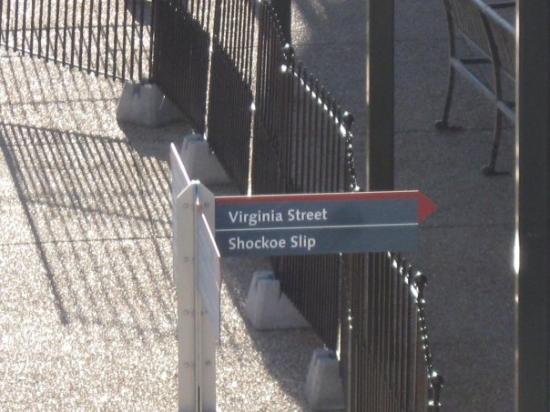 Canal Walk: random richmond street sign