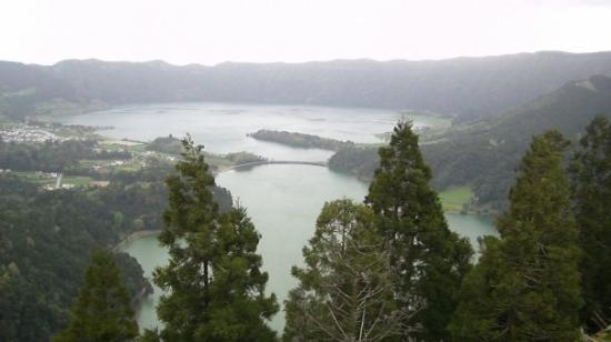 Caldeira das Sete Cidades: Sete Cidades lake