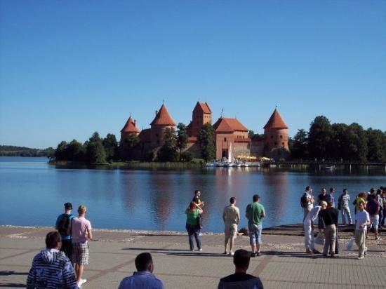 Trakai, ลิทัวเนีย: Zamek w Trokach