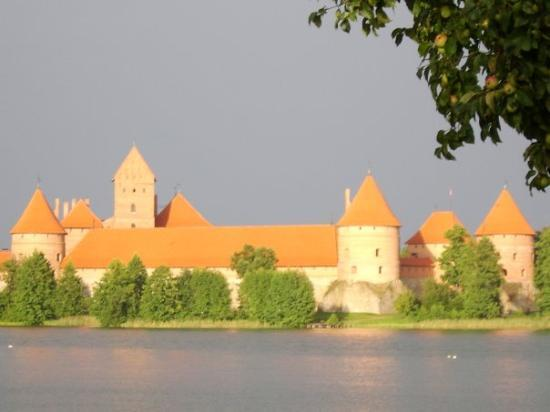 Trakai castle... finally some sun :))