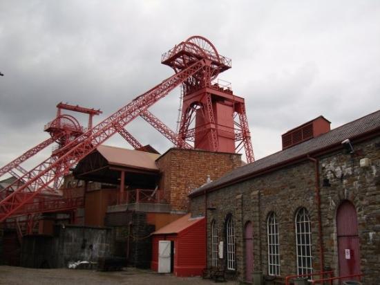 Merthyr Tydfil, UK. Merthyr Lewis Colliery
