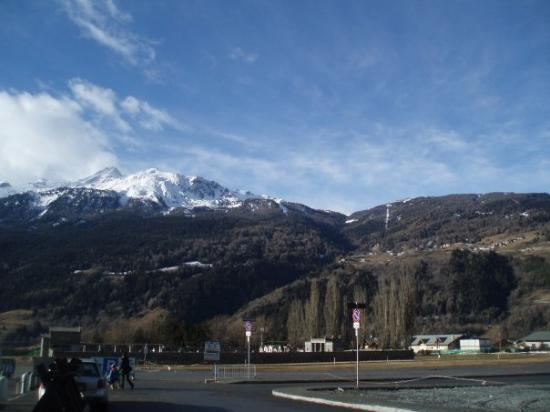 Bormio, อิตาลี: Sniego Alpėse nerasta
