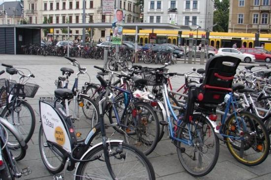 Neustadt: A bike park.