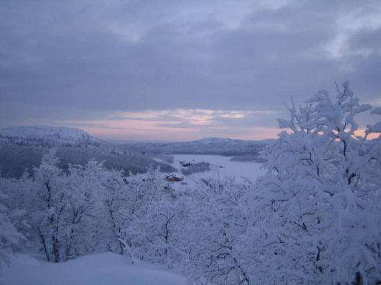 Kirkenes, Noruega: Finnmark, vista di uno scorcio di siberia