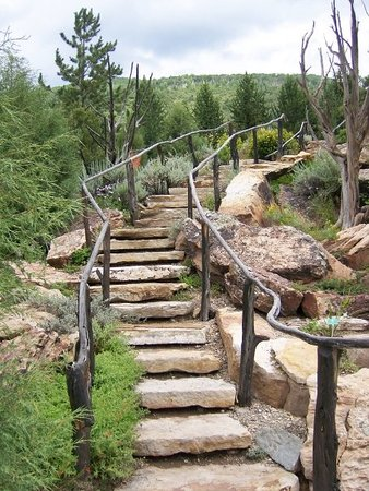 Vail, CO : Stairs at Betty Ford