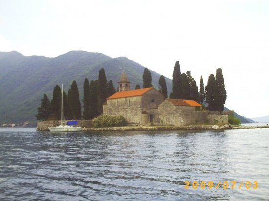 Perast, Montenegro: Otok Sveti Đorđe