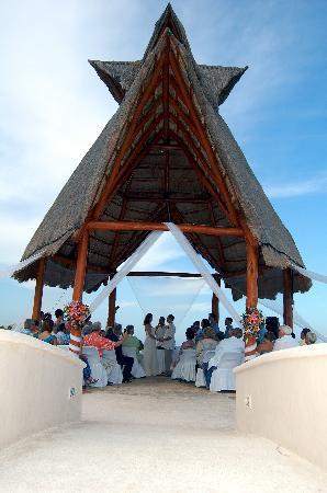 Our wedding ceremony