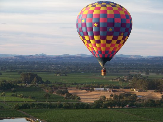 Up & Away Ballooning: Looking out at our friends...