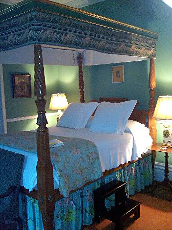 Spencer On Main: Canopy Bed in our Suite