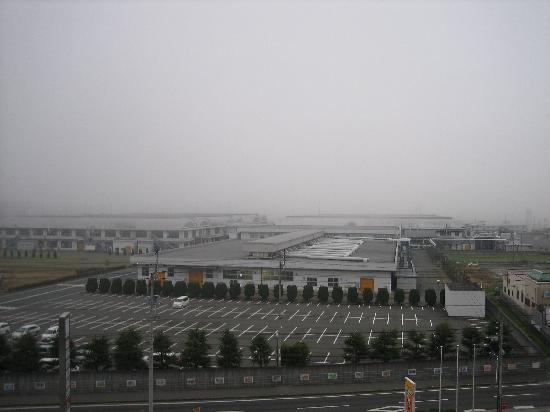 Ozu Plaza Hotel: 部屋窓からの景色です。