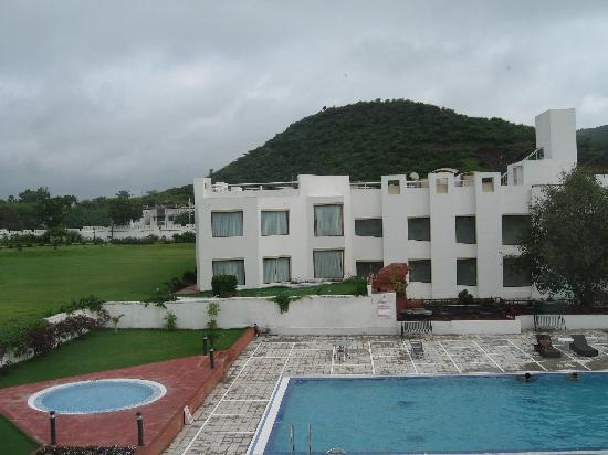 Inder Residency : View from my room