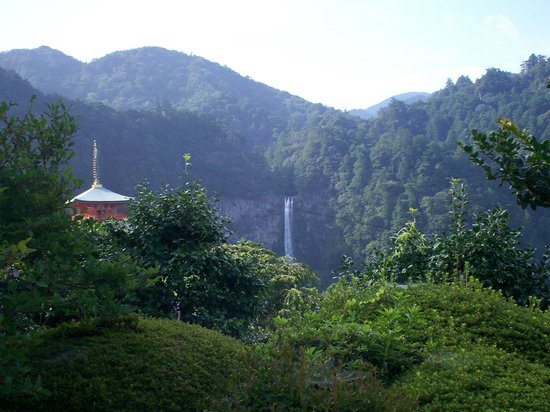 Seigantoji Temple: view from sitting room