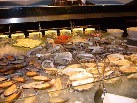 G Hotel Gurney: 牡蠣が