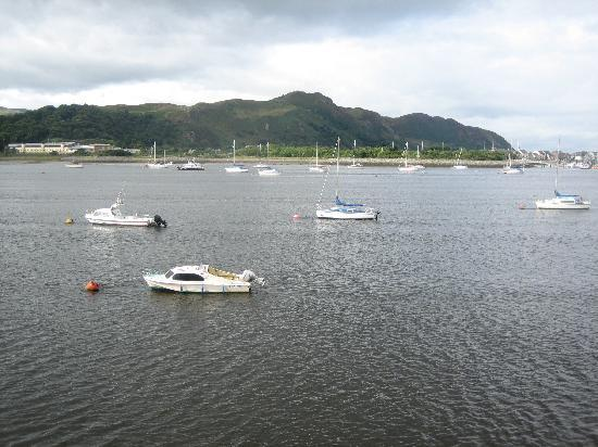 Deganwy, UK: The stunning view