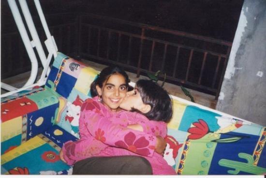 Beyrouth, Liban : Sister and Me summer 2000 in lebanon <33