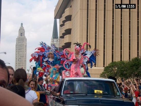 แบตันรูช, หลุยเซียน่า: El Mardi Gras para familias en Baton Rouge