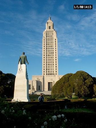 แบตันรูช, หลุยเซียน่า: Llegando al capitolio de Baton Rouge (LA)