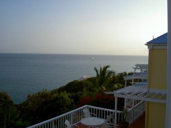 เซนต์จอห์น: A view from our villa