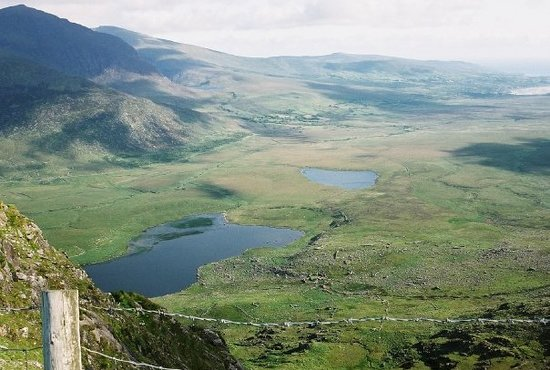 Dingle, İrlanda: Connor Pass