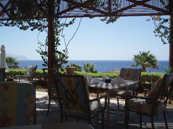 """Concorde El Salam Front Hotel: vista dal ristorante """"l'italiano"""""""