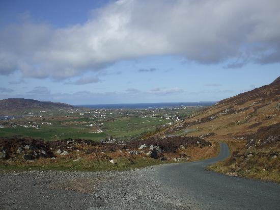 Donegal Town, Irland: Mamore Gap.