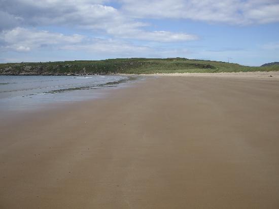 Donegal Town, İrlanda: Lenan Beach.