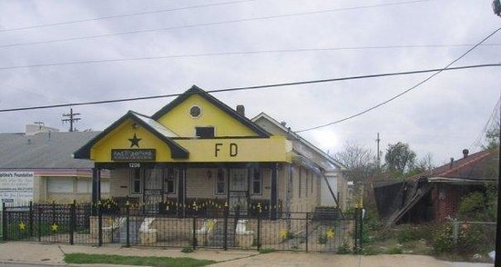 Fats' Domino's house in New Orleans.