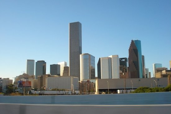 ฮูสตัน, เท็กซัส: Skyline de Houston en el Downtown... hermosos rascacielos