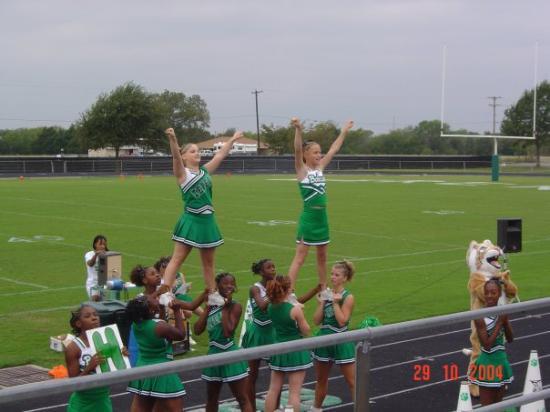 Kerens High School Cher Leaders