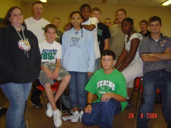 Kerens, TX: Algebra Class