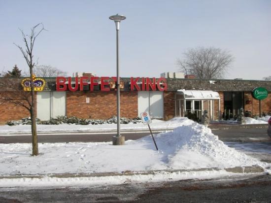 โตรอนโต, แคนาดา: 2009 Jan 01 Scarborough China Buffet King Good food, reasonable price