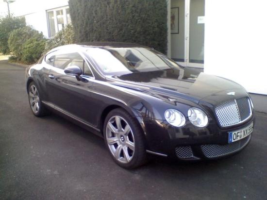 Boss New Car Bentley Continental Gt Picture Of Offenbach