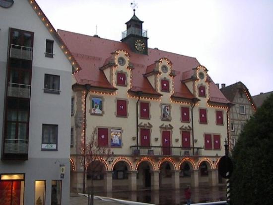 December-2006 Germany (Sigmaringen) X'mas Countdown building