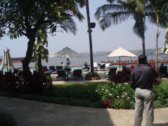 Panjim, อินเดีย: Et kig på hotel området