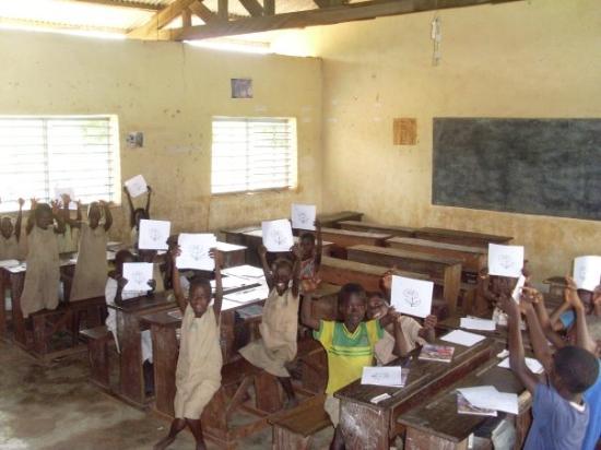 Bokoumbe, Benin: La classe de CE1