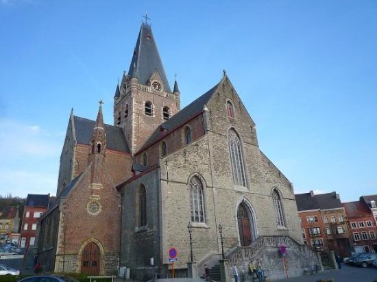 Geraardsbergen, Belçika: l'eglise de Grammont