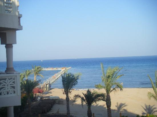 Albatros Palace Resort: view from our room