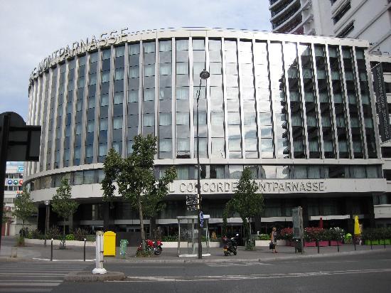 โรงแรมคองคอร์ด มงปาร์นาสส์: ホテルの全景
