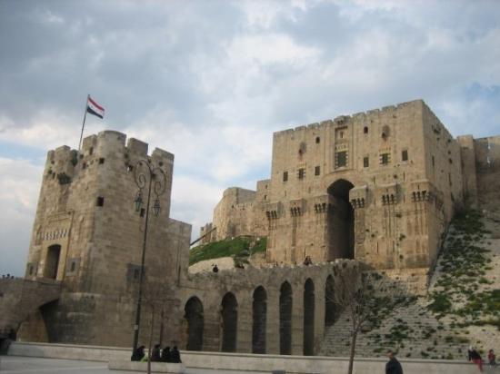 Damascus, Syria Aleppo Citadel