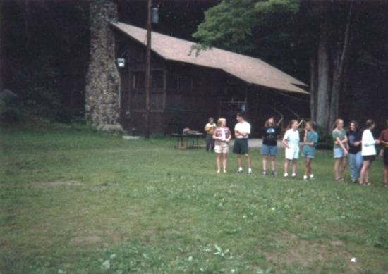 Swanzey, NH, United States Summer Camp. Camp Squanto 1996