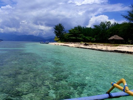 Bed and breakfast i Gili Meno