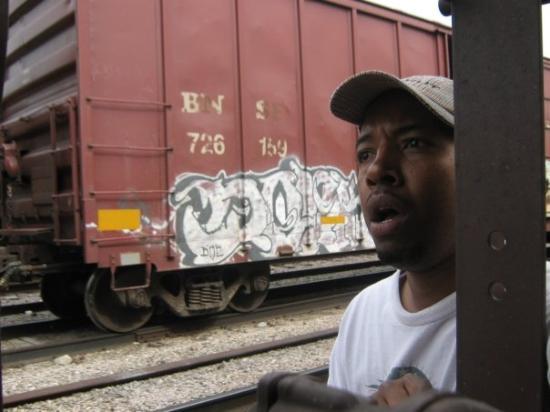 ลิงคอล์น, เนบราสก้า: Exploring a train yard in Nebraska