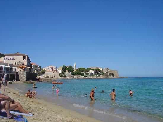 Algajola, France: life's a beach