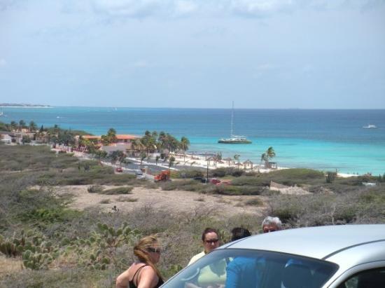 Oranjestad, Aruba: Esto fue lo mas cerca que estuvimos de la playa en aruba.. jajaja