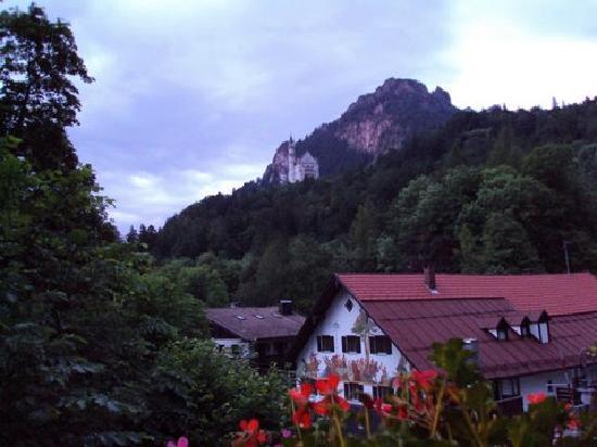 Hohenschwangau, เยอรมนี: View from the Hotel Alpenstuben